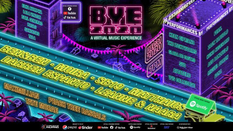 Ben&Ben, SB19, Moira, Darren Espanto, Other Performers Sings BYE 2020