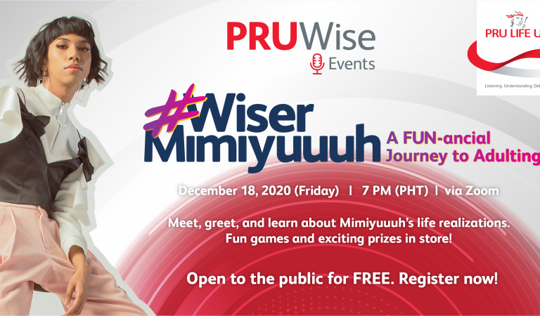 Laugh and Learn with Mimiyuuuh at the Pru Life UK PRUWise Event