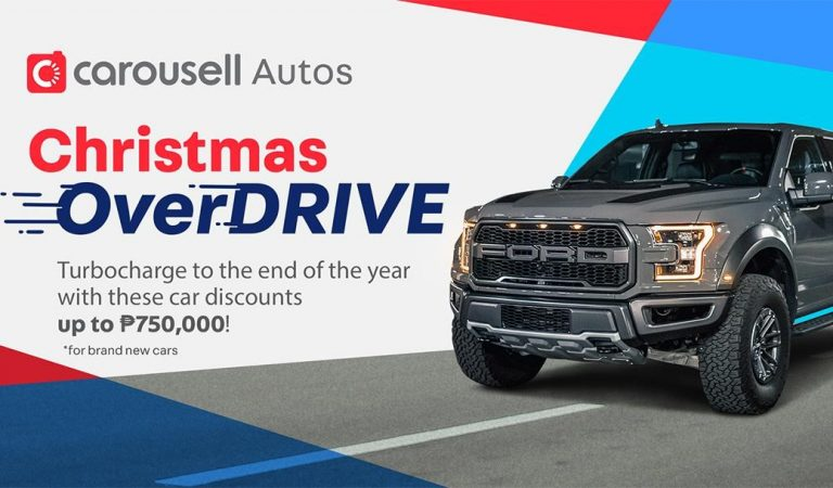 Buy 1 Take 1 on Brand New Cars at the Carousell Christmas OverDRIVE