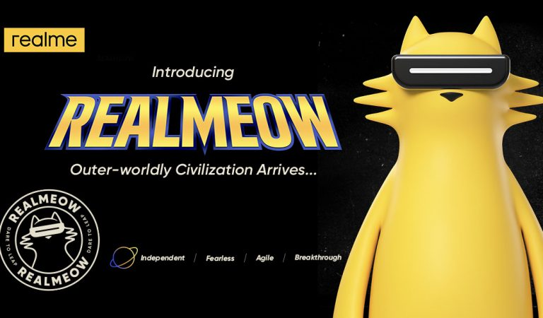 MEET REALMEOW   The Official Brand Character of realme