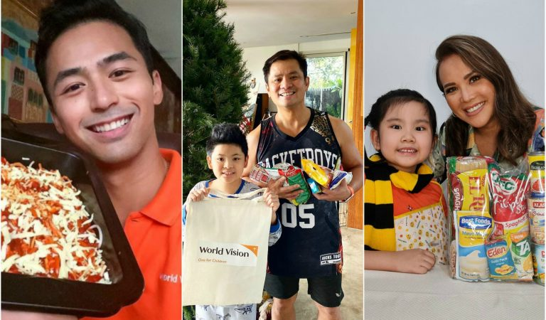 Celebrities For The World Vision Noche Buena Initiative