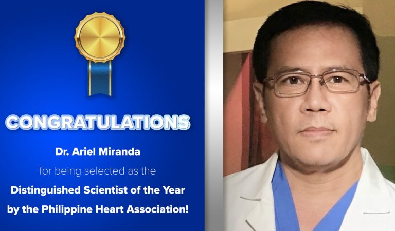 Cardinal Santos Medical Center Cardiologist Named Most Outstanding Scientist in the Philippines Today