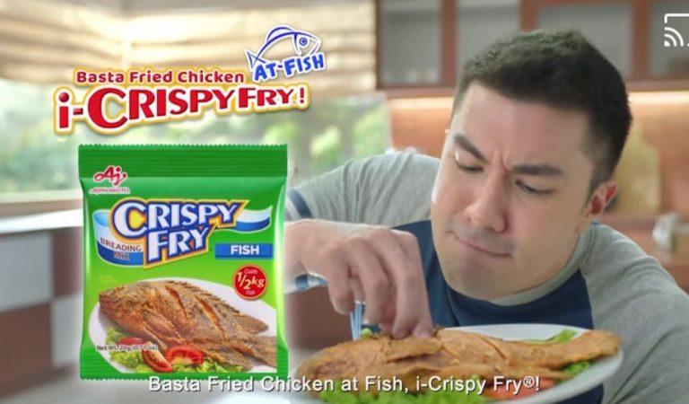 "Ajinomoto Introduces Luis ""Kuya Lucky"" Manzano as New Crispy Fry Endorser"