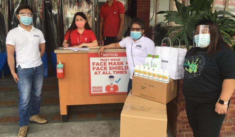 HADSAP Donates to Novaliches Hospital and Caritas Manila