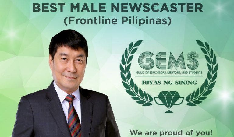 "TV5's Frontline Pilipinas and ""idol"" Raffy Tulfo Wins at the 5th GEMS – Hiyas Ng Sining Awards"