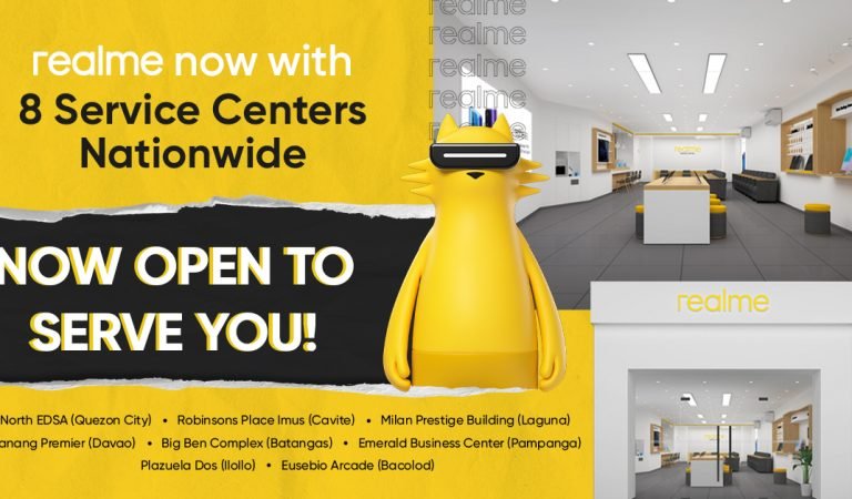 realme Opens 8 Dedicated Service Centers in the Philippines Nationwide