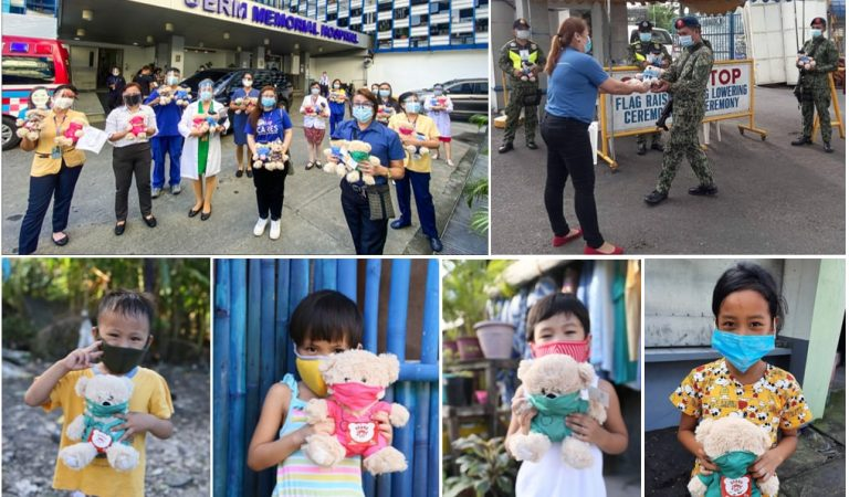 More Than 20,000 SM Bears of Joy Given to Filipino Frontliners and Children-in-Need All Over The Country