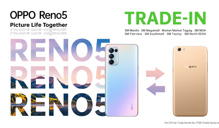Upgrade Your Oppo F Series Phones to a Reno5 4G | A One-Day-Only Exclusive Trade-In Offer