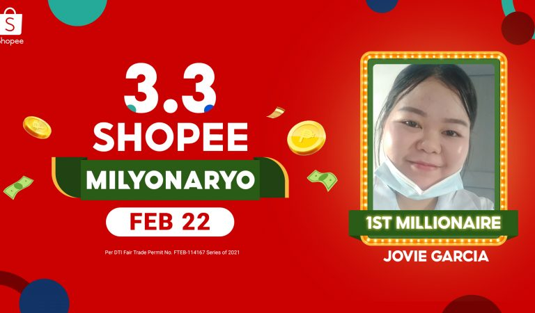 A Caregiver From GenSan is the First 1M Pesos 3.3 Shopee Milyonaryo Winner!