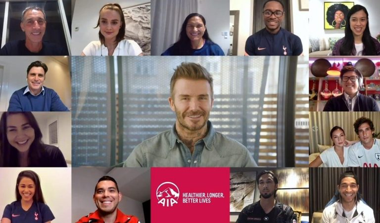 AIA Global Ambassador David Beckham to Lead Online Community That Aims to Advocate Healthier, Longer, Better Lives