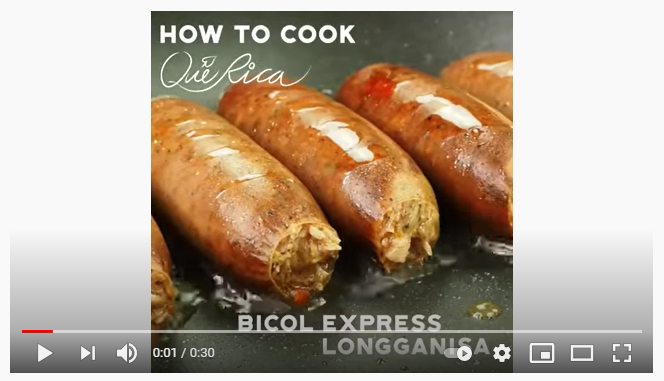 The Bicol Express Longganisa of Que Rica is Super Perfect for Breakfast
