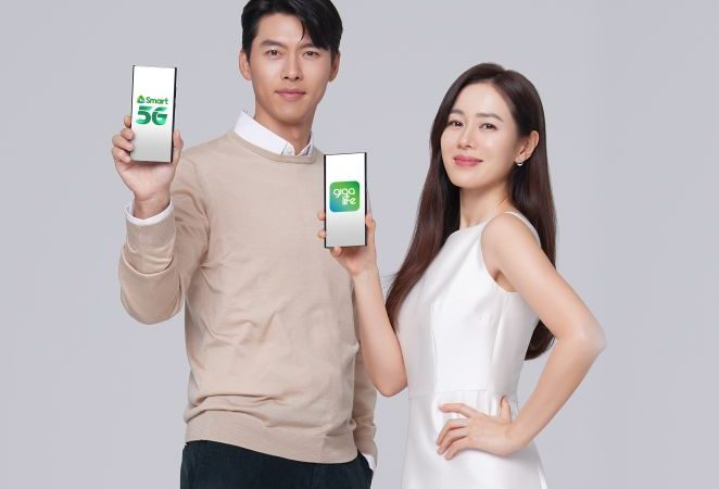 New Smart 5G TVC Pairs The Music of Ben&Ben with CLOY Couple Hyun Bin and Son Ye Jin