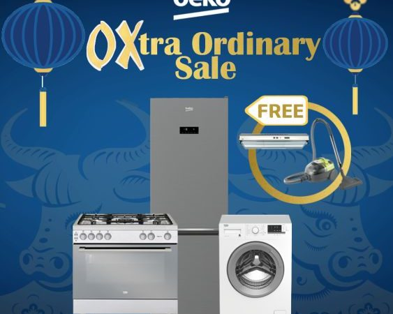 Good Deals and Freebies in Beko Appliances OXtra Ordinary Sale