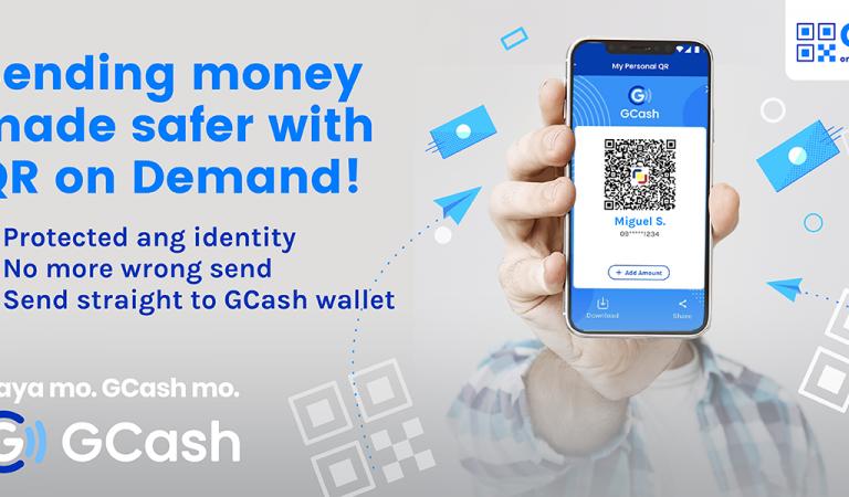 No More Wrong Send! Sending Money via GCash Made Safer with QR on Demand