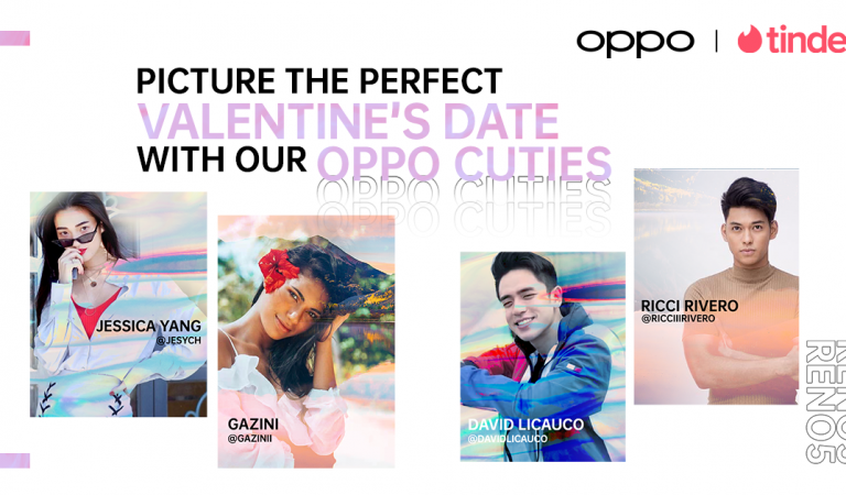 Picture The Perfect Valentine's Date with OPPO Reno5 and These Tinder Cuties