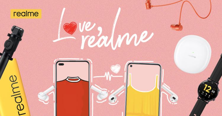 """""""Love, realme"""" Valentine's Day Special Offers Couple Deals and Dinner Dates"""
