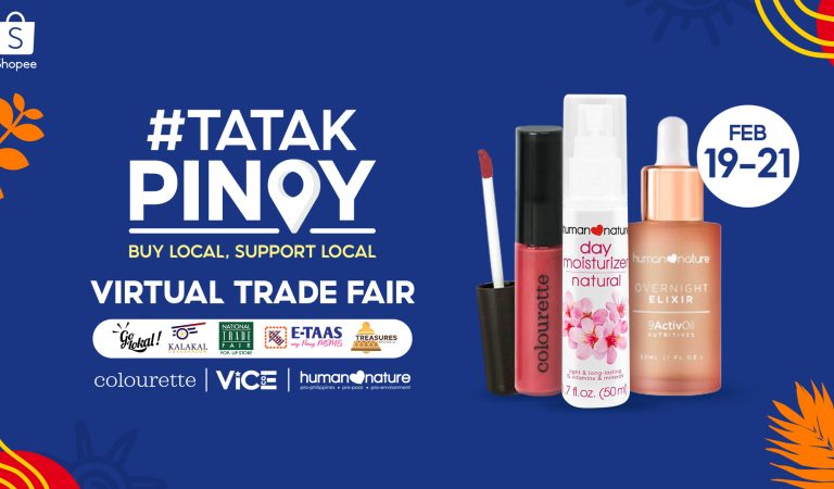 TATAK PINOY | Shopee Launches Virtual Trade Fair to Promote and Support Local Businesses