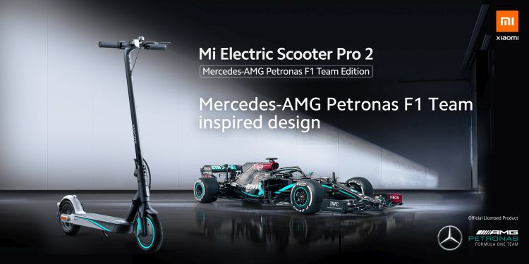 Xiaomi Unveils its Premium QLED TV and Mercedes-AMG Petronas F1 Team Inspired Mi Electric Scooter Pro 2