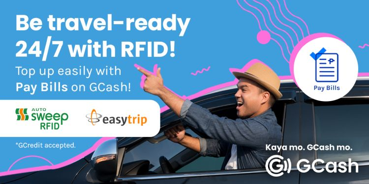 Quicker Autosweep and EasyTrip RFID Loading via GCash