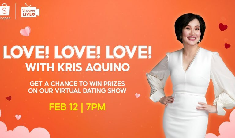 Three Things to Look Forward to at Kris Aquino's Shopee Love! Love! Love! Special Valentine's Day Livestream