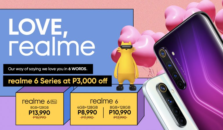 SALE ALERT! Smartphone Leader realme Drops SRP of its 6 and 6 Pro by 3,000 Pesos Today