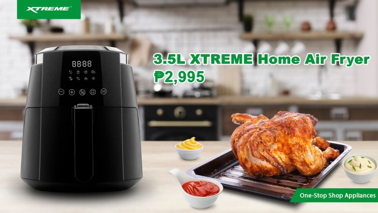 LOOK: XTREME Home Air Fryer 3.5L is Now Available!