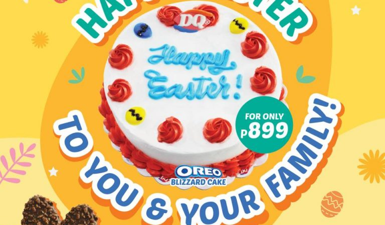 Celebrate Easter with a DQ Easter Blizzard Cake and Egg-Shaped Dilly Bar