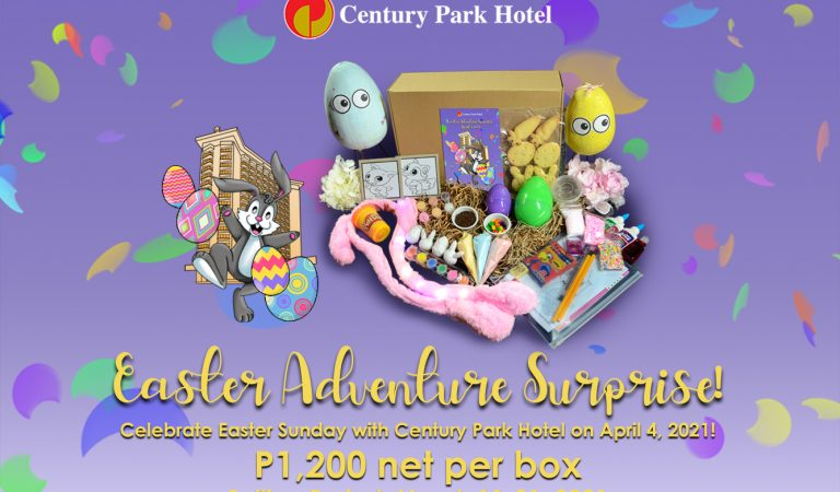 Celebrate a Century Park Hotel Easter at Home