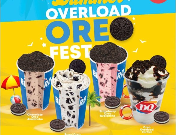 LOOK: Summer Overload Oreo Fest Now Happening at DQ