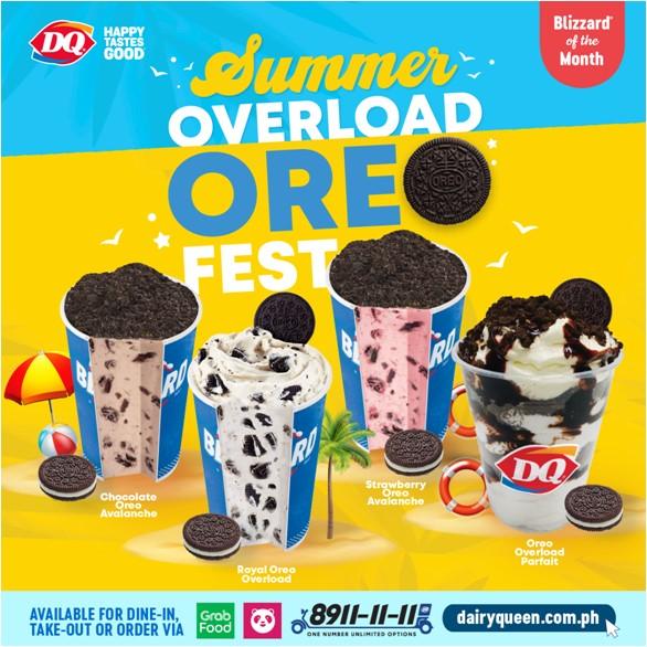 summer overload oreo