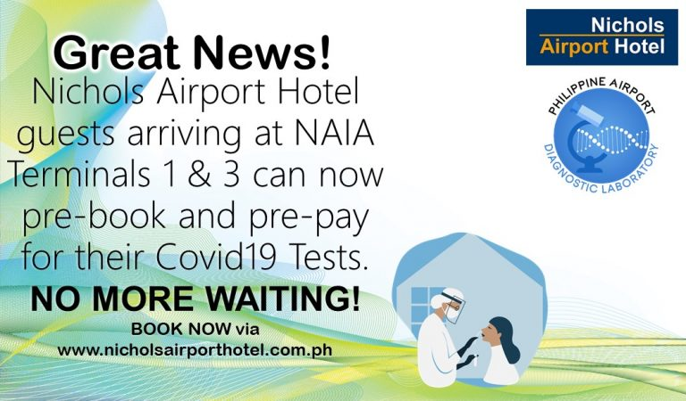 Nichols Airport Hotel Now Offers Express Check-In and Prebooking of Covid19 Tests
