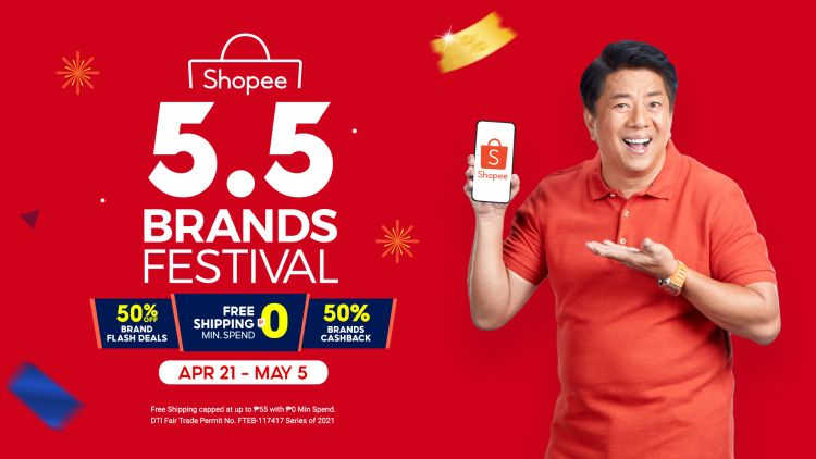 Shopee 5.5 Brands Festival