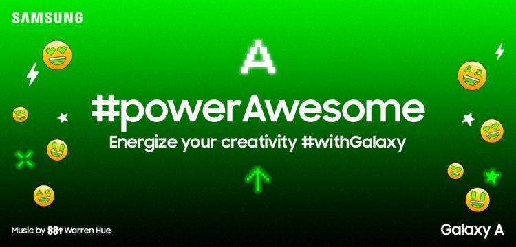 Samsung Galaxy A Series #powerAwesome Tiktok Challenge