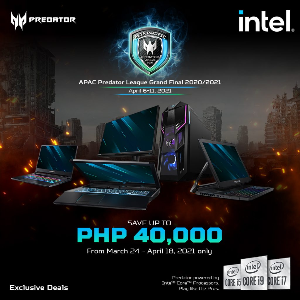 Predator laptops
