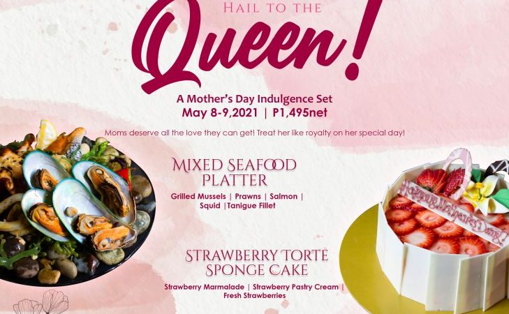 A Mother's Day Treat Fit For a Queen at Century Park Hotel