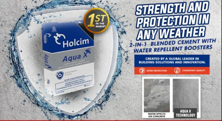 Holcim Develops First Ever Water Repellent Cement