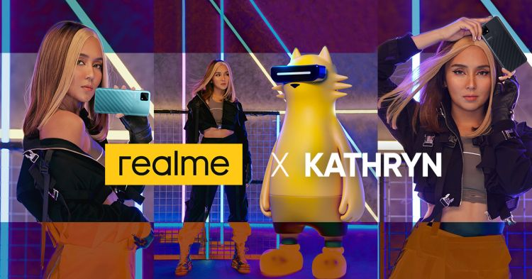 Kathryn Bernardo is realme PH First Brand Ambassador