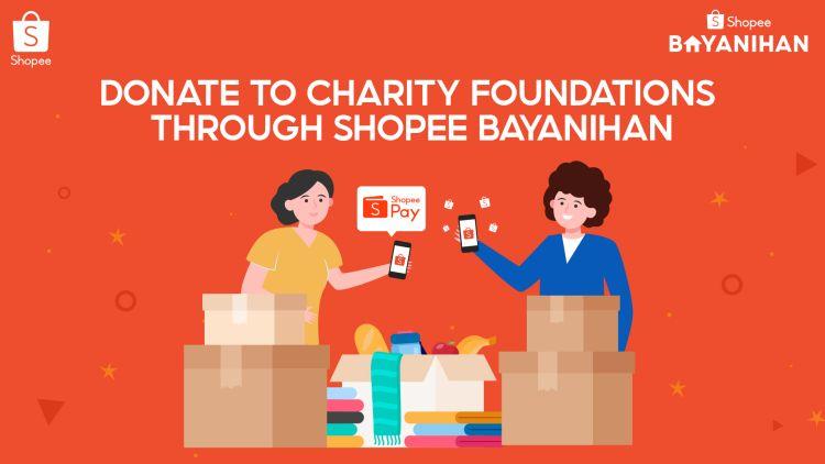 Support Charity Organizations via Shopee Bayanihan