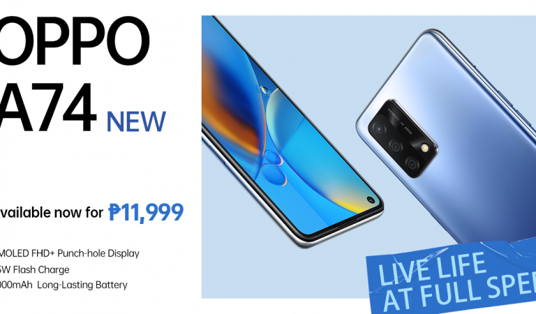 OPPO A74 4G Now Available in PH for Only 11,999