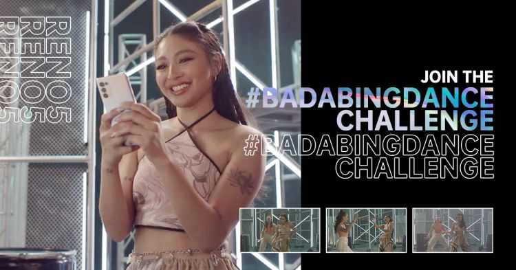 Do the OPPO Reno5 #BadabingDanceChallenge with Nadine Lustre and Win a New Gadget