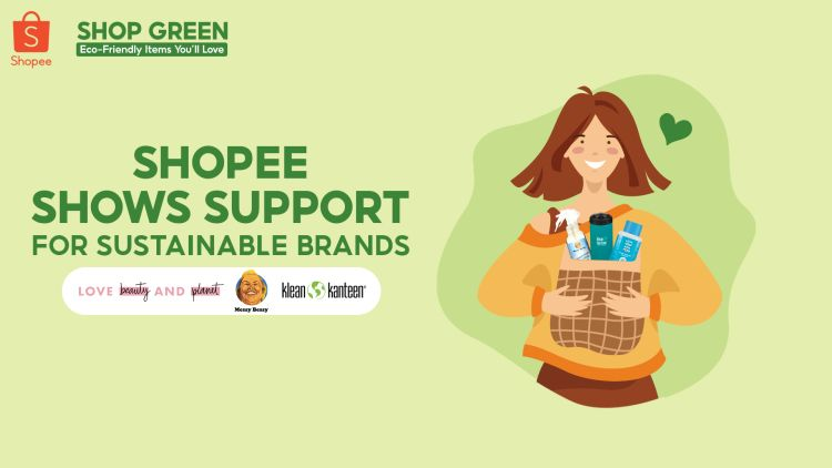 Shop Green – Shopee Supports Eco-Friendly Brands