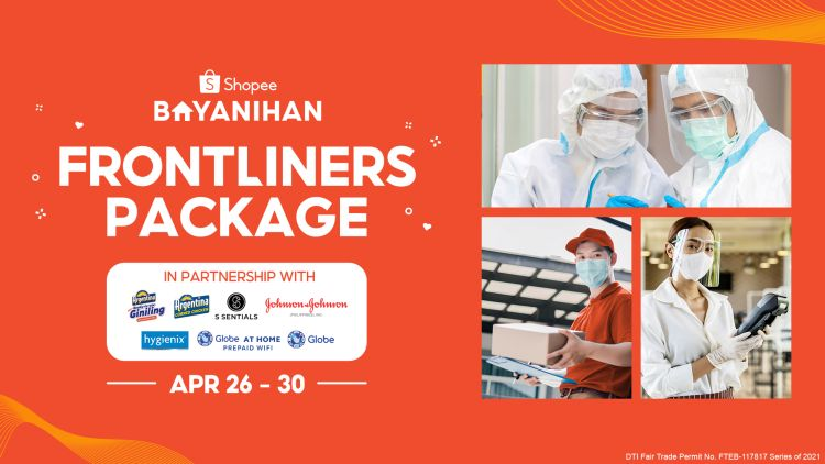 Shopee Bayanihan: Exclusive Digital Packages For Frontliners