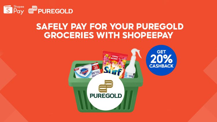 Puregold Branches Now Accepts ShopeePay