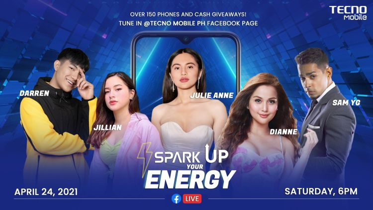 Spark 6 Air Up For Grabs at TECNO Mobile Talent Show