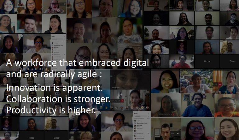 Inclusive Prosperity via People-Centric Digital Transformation