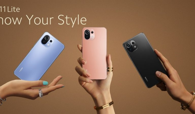 Mi 11 Lite is Designed For The Young and Fashionable