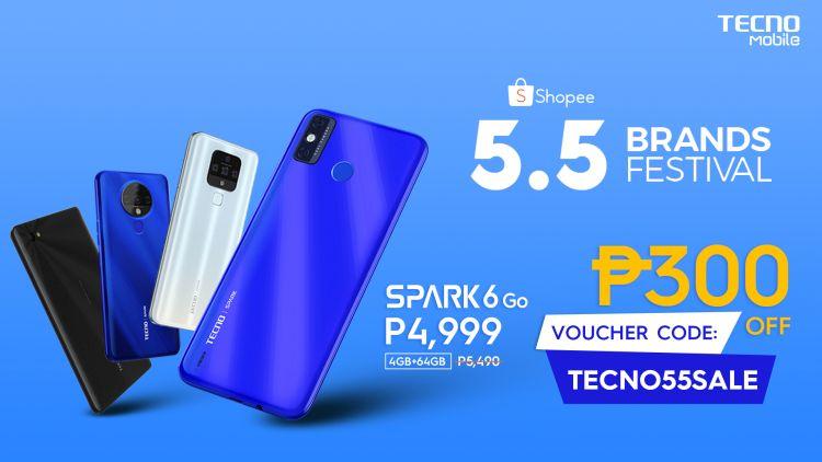 Tecno Mobile 5.5 Incredible Super Online Deals