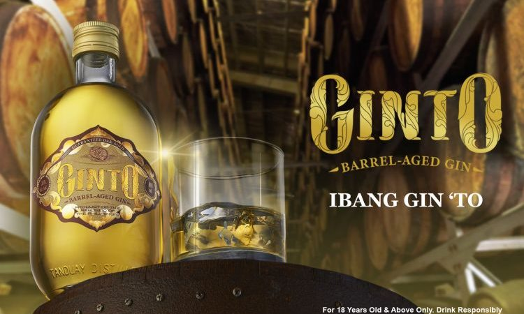 GINTO | Tanduay Enters the Gin Market With Barrel-Aged Gin