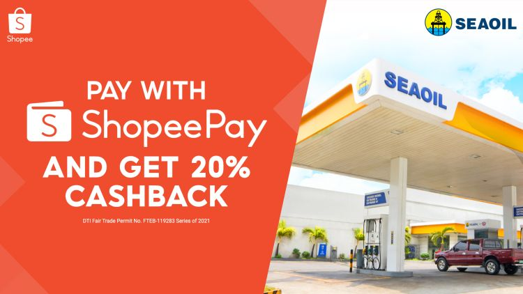 You Can Now Use ShopeePay to Pay For Gas in SEAOIL