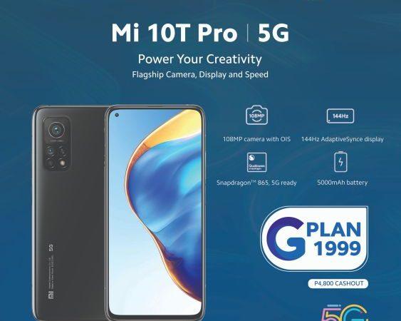 Mi 10T Pro 5G Now Available via Globe GPlan 1999